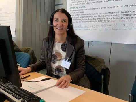 Brigitte Putz - Teamleiterin der AGES-Infoline