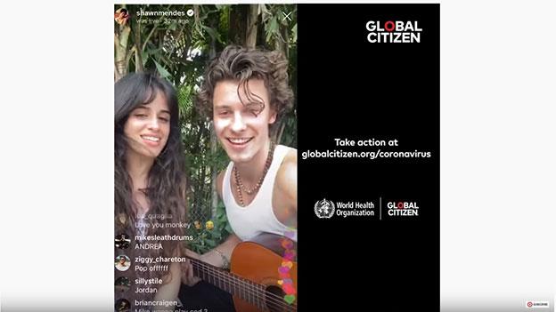 Camila Cabello & Shawn Mendes singen zu Hause