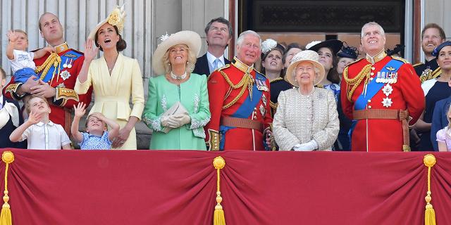 Britische Royal Family