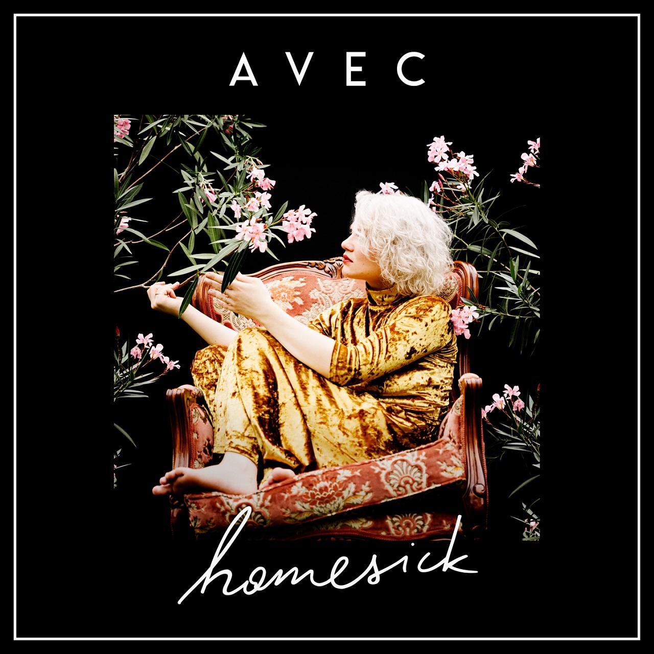 """Albumcover Avec """"Homesick"""""""