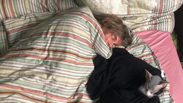 Clemens beim Mittagsschlaf