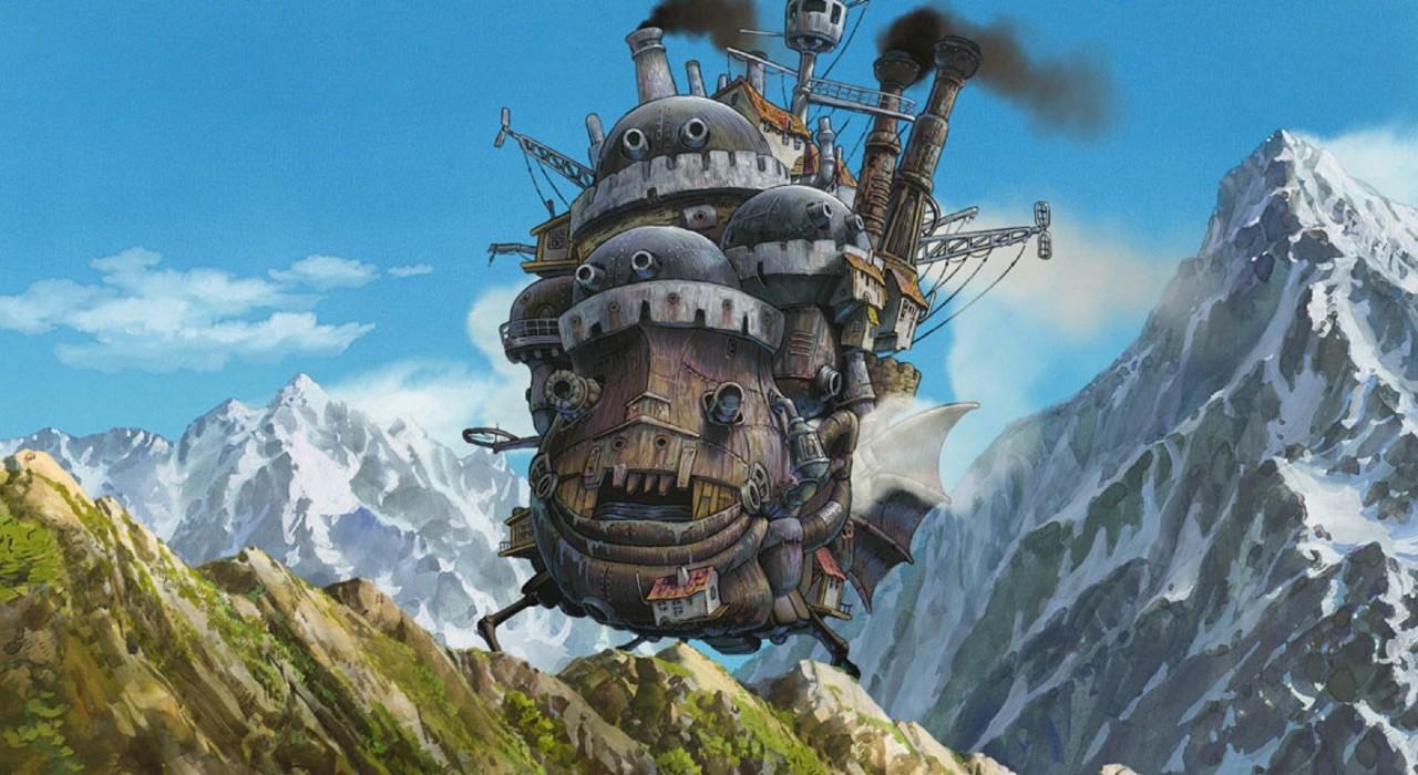 Filmstills aus Studio Ghibli Filmen