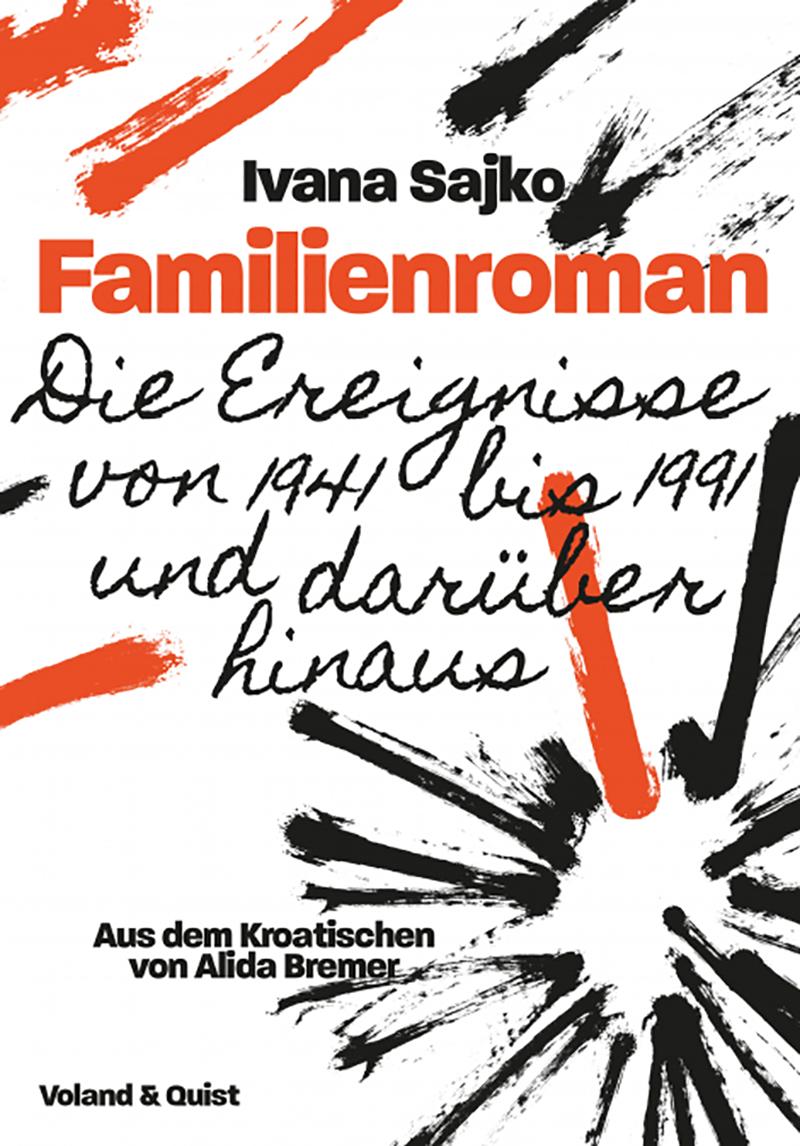 """Buchcover """"Familienroman"""""""