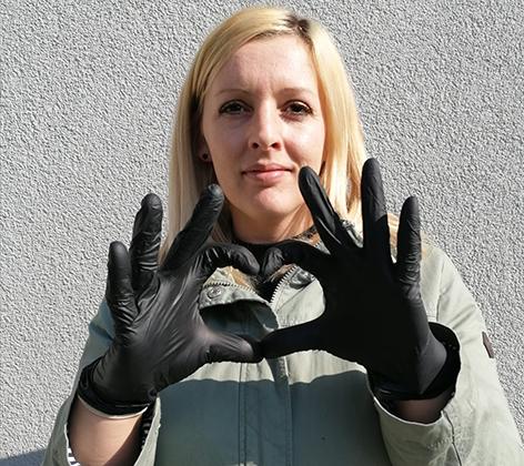 Melanie Silber, Feinkostverkäuferin