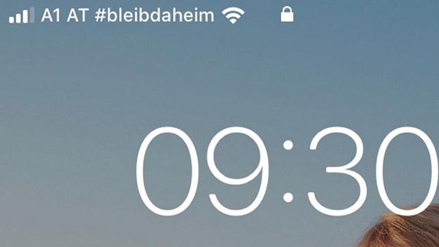 Netzkennung A1 AT #bleibdaheim
