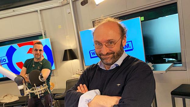 Simulationsexperte Niki Popper im Ö3 Wecker zu Gast