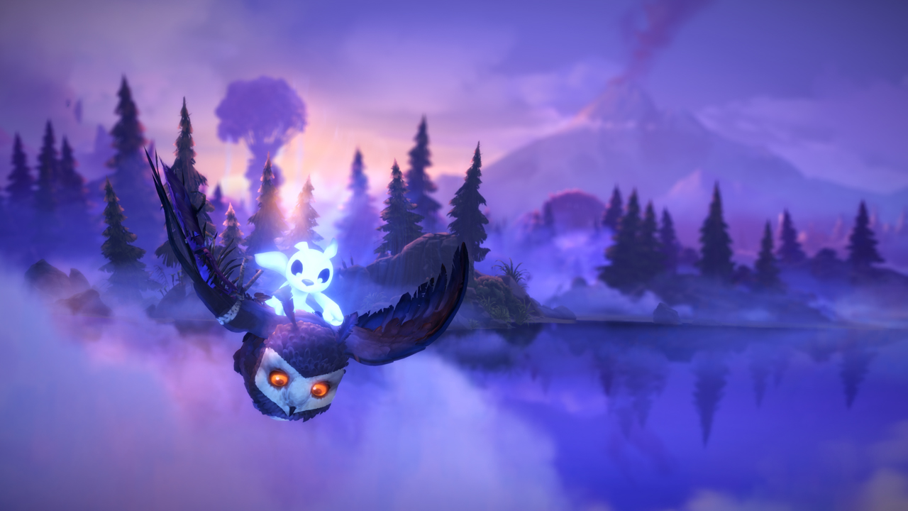 Screenshot des Spiels Ori and the Will of the Wisps