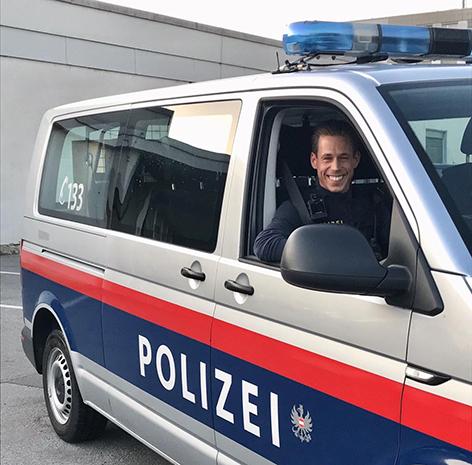 Polizist Michael Kügel
