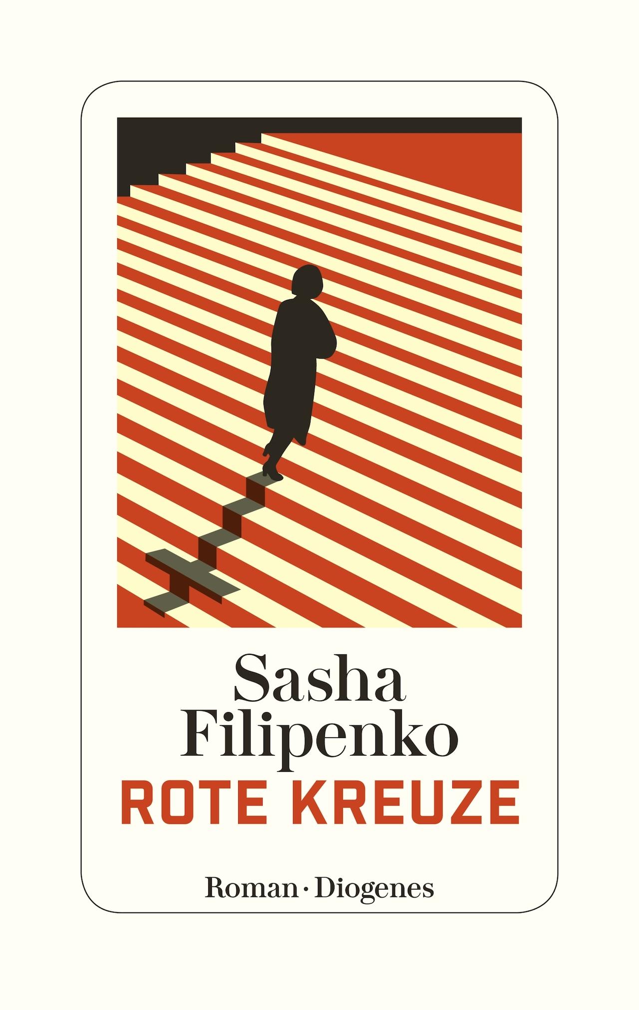 """Rote Kreuze"" Roman Cover"