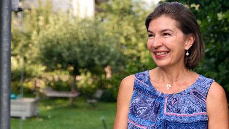 Elisabeth Röthlin, Mittelschullehrerin