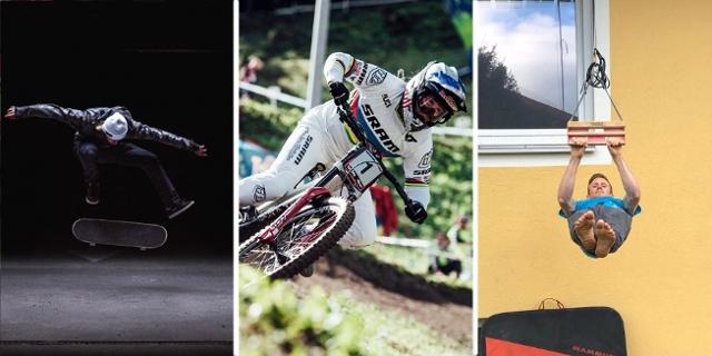 Collage mit Clemens Millauer, Valentina Höll und Jakob Schubert