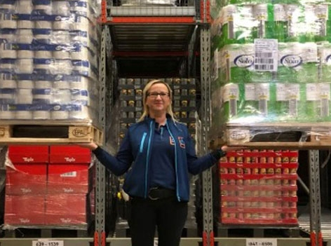 Klaudija Horvat, Logistikzentrale Hofer