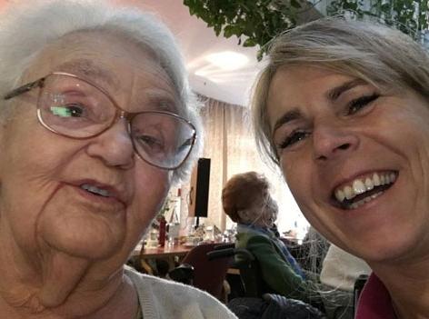Helga Moser ist Pflegeassistentin der Caritas