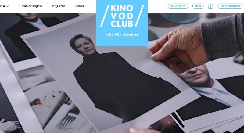 Startseite des Kino VOD Clubs