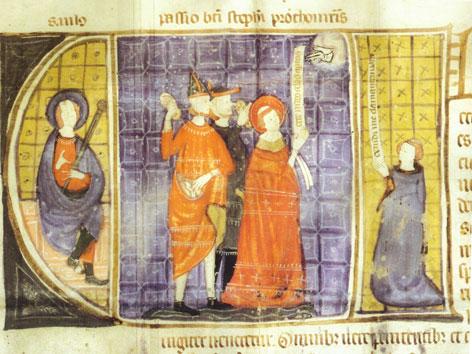 Ablassurkunde - Martyrium Stephanus für den Stephansdom