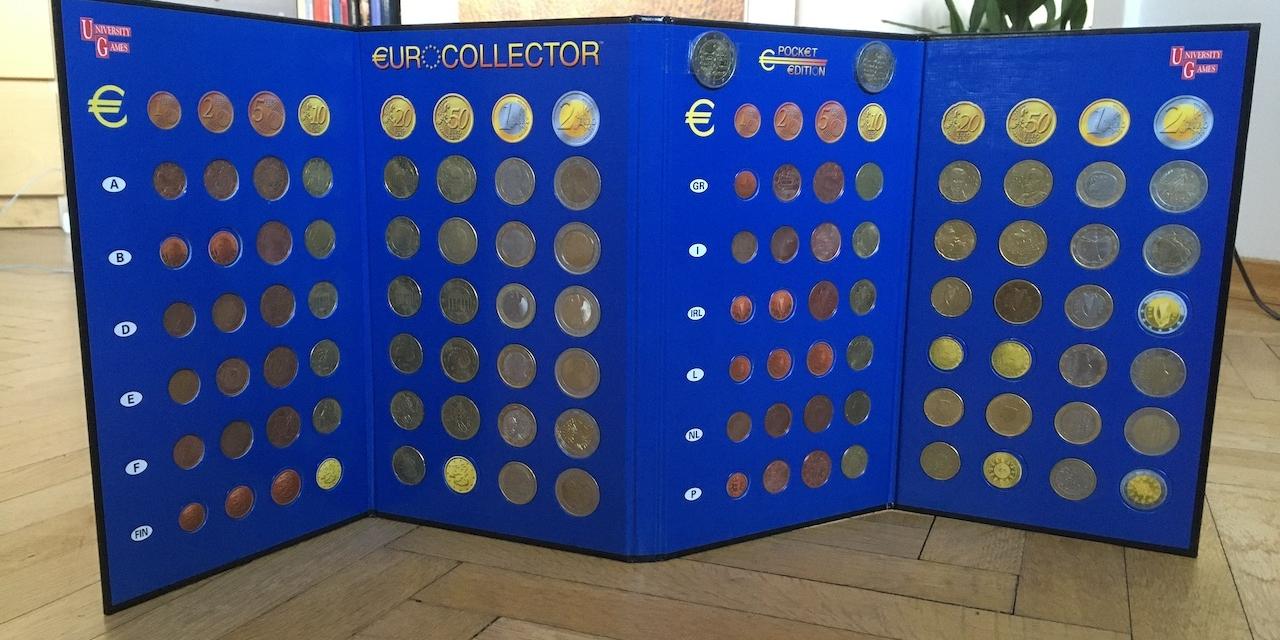 Euro-Münzen Sammlung von Christian Pausch