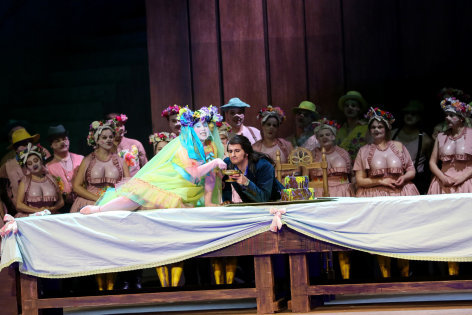 Aus der Volksoper Wien: Der Zigeunerbaron