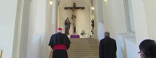Bischof Ägidius Zsifkovics und Superintendent Manfred Koch