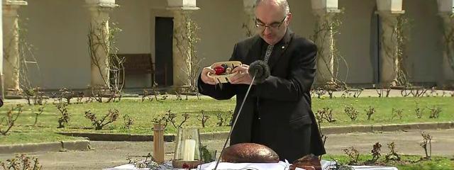 Bischof Krautwaschl bei der österlichen Speisenweihe