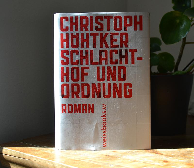 """Buchcover """"Schlachthof und Ordnung"""""""