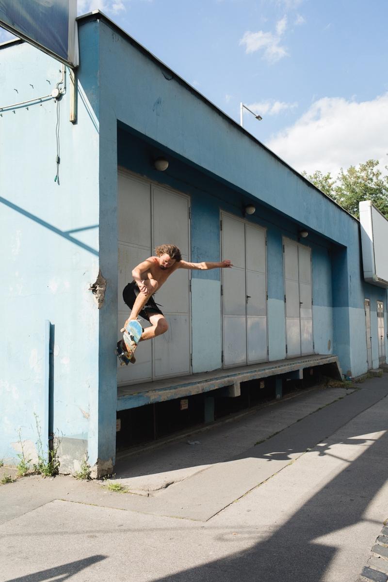 "Szenen aus dem Skate-Film ""High Society"""
