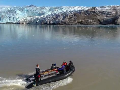 """Expedition: """"Tour des Lebens"""" im August 2018 mit den Auszubildenden der Hotelkette Upstalsboom: """"Polar Rock Stars"""" in Spitzbergen auf den """"Newtontoppen"""""""