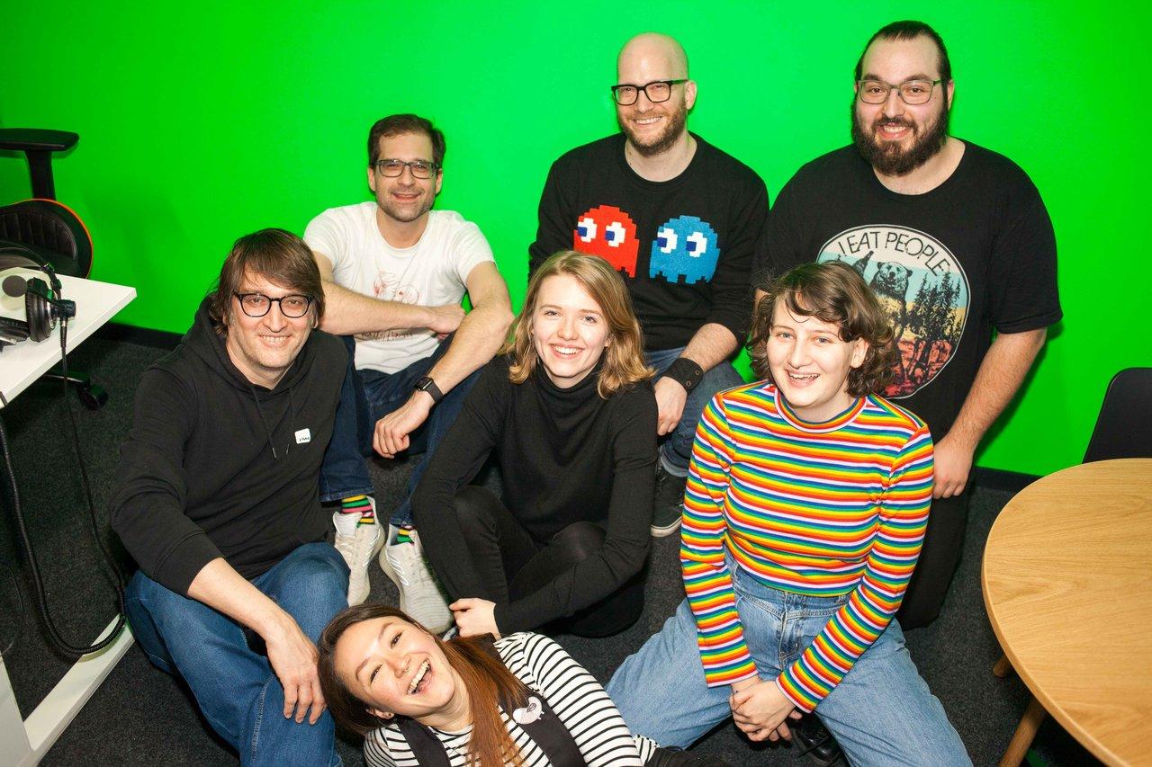 Das Team der FM4 Spielekammerl-Show