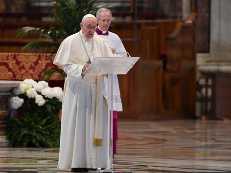 Papst Ostergottesdienst