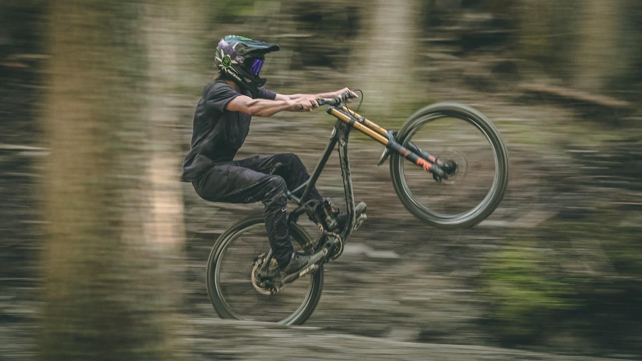 Der Biker Stevie Schneider