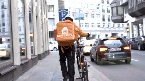 Helden auf Rädern: die Wahrheit über Essens-Lieferdienste