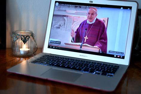 Die Morgenmesse von Kardinal Christoph Schönborn wird live im Internet übertragen