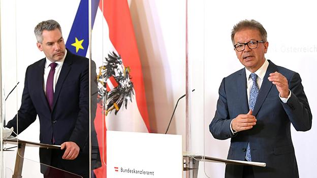 Minister Rudi Anschober Karl Nehammer