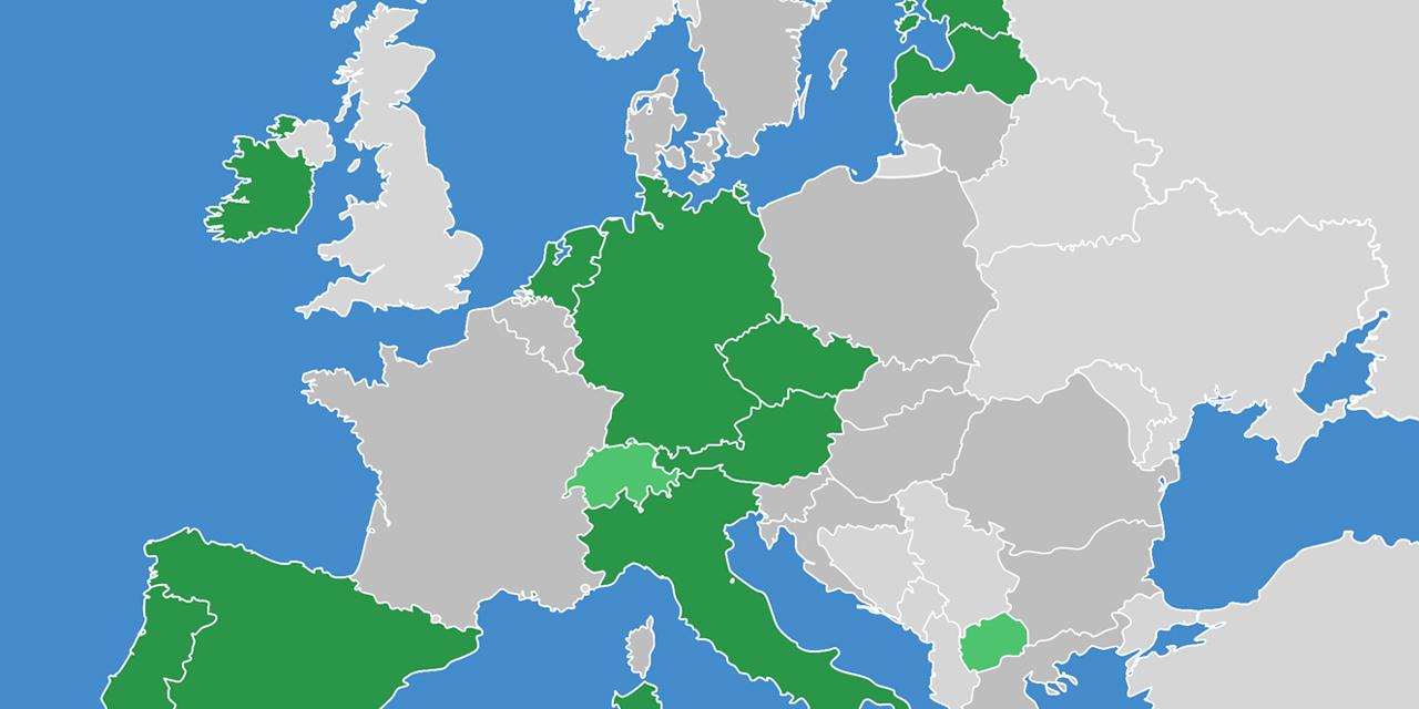 Karte Europas