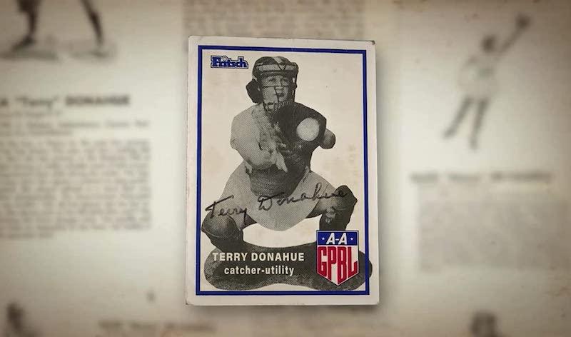 Terry Donahue als Baseballspielerin, A Secret Love