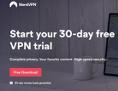 Die Startseite des Fake-VPN-Dienstes nordfreevpn.com