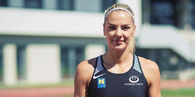 Die Siebenkämpferin Ivona Dadic