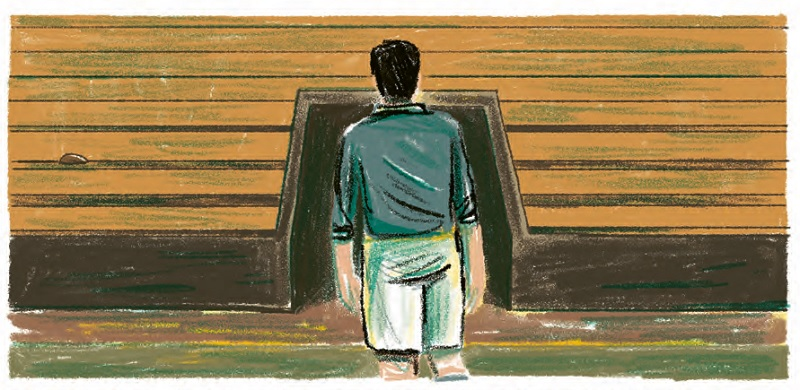 Bild aus der Graphic Novel: Ein Leben für den Fußball