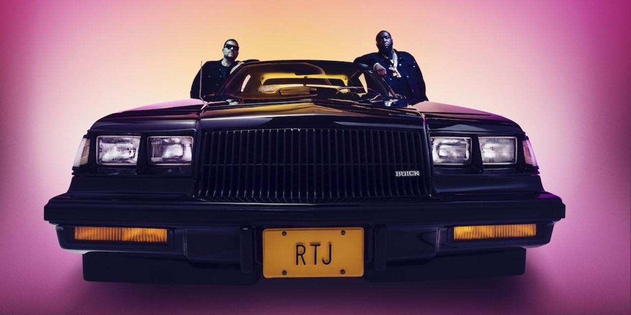 """Ein Auto mit Killer Mike und El-P, Cover von Run the Jewels Single """"Ohh LA LA"""""""