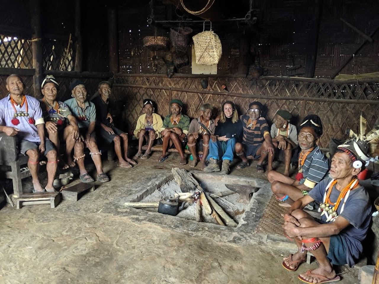 Impressionen vom Stamm der Naga in Nordost-Indien