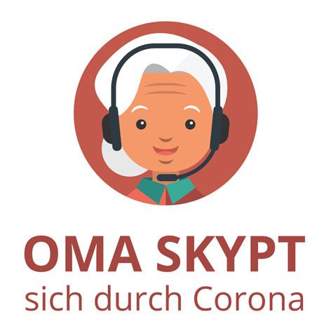 Neues Projekt: Oma skypt