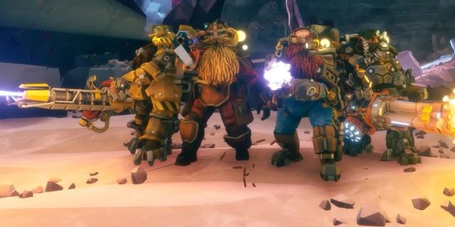 """Bildschirmfoto aus dem Computerspiel """"Deep Rock Galactic"""""""