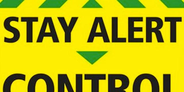 Stay Alert - Meme