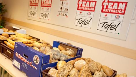 Team Österreich Tafel, Brot