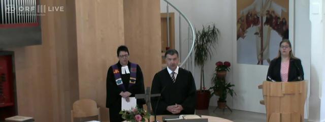 evangelischer Gottesdienst 200520