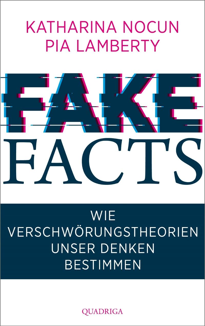 """Das schliche Cover des Buchs """"Fake Facts"""""""
