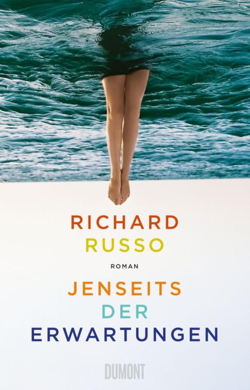 """Buchcover Richard Russo """"Jenseits der Erwartungen"""""""