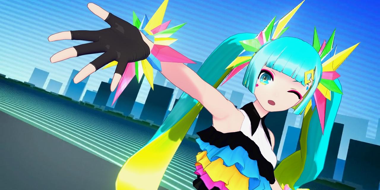 "Bildschirmfoto aus ""Hatsune Miku: Project Diva Mega Mix"""