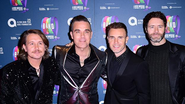 Take That mit Robbie Williams