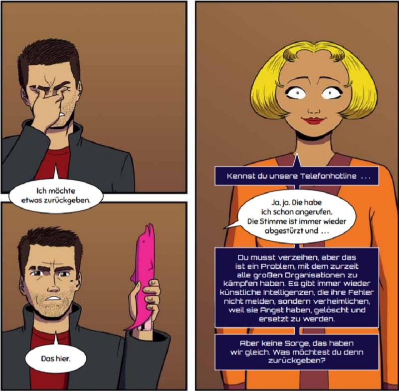 ausschnitt QualityLand Comic