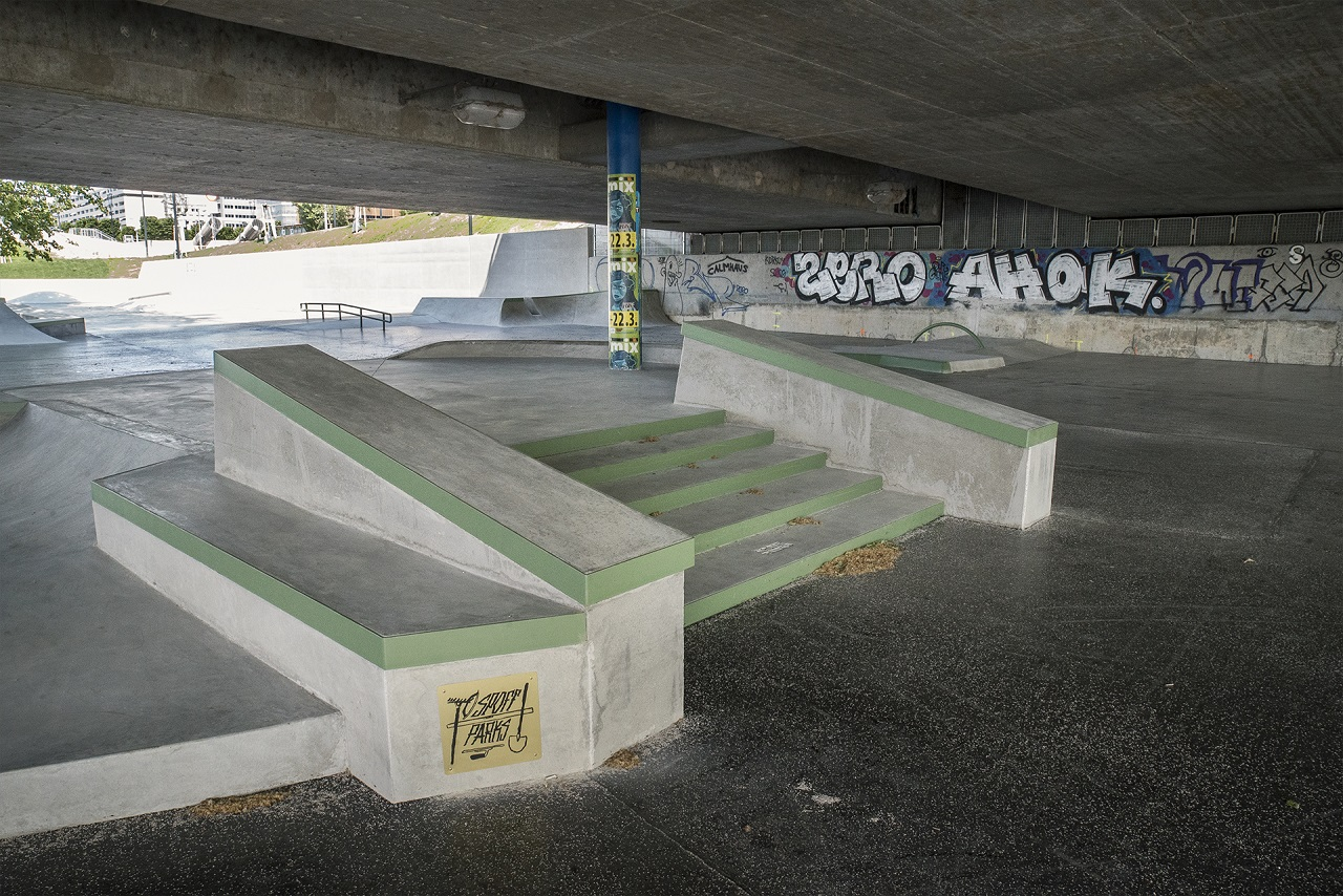 der skatepark copa beach plaza